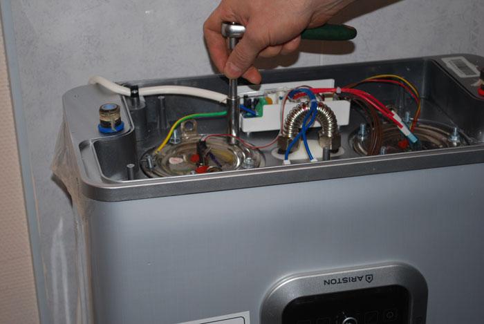 Ремонт электрического водонагревателя аристон